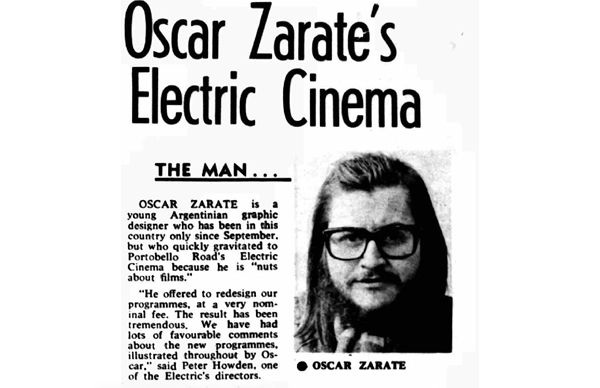 Oscar Zarate's Electric Cinema