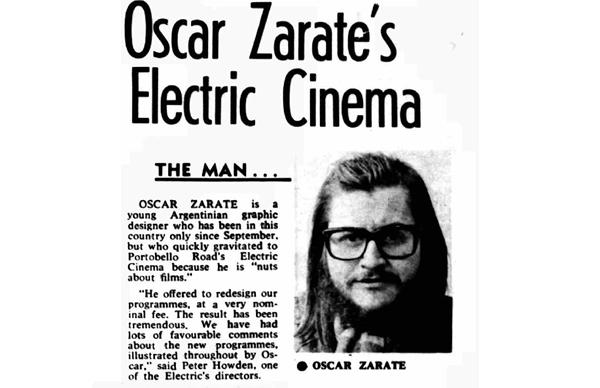 Oscar Zarate's Electric Cinema